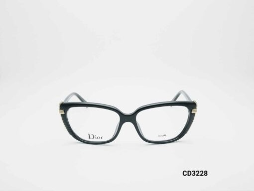 Dior CD3228 shiny black